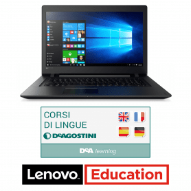 Notebook Lenovo ESSENTIAL V110 EDUCATION CON DOWNLOAD GRATUITO CORSO DI LINGUE DEAGOSTINI