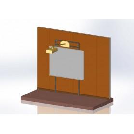 Supporto Universale per LIM adatto a pareti in cartongesso