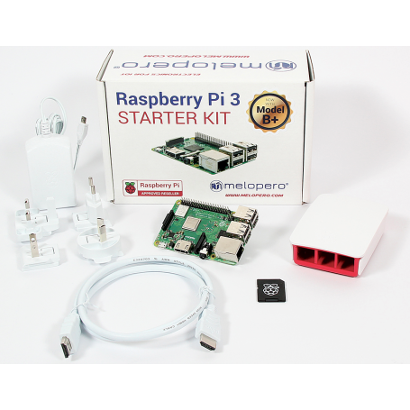 Raspberry Pi 3 Model B+ Official Starter Kit