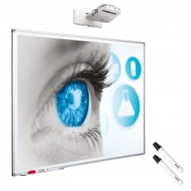 Kit interattivo: lavagna bianca 88''+ EB-685Wi + installazione