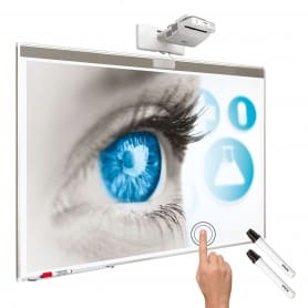 Kit interattivo: lavagna bianca 83''+ EB-680Wi + installazione