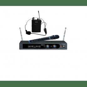 Karma radiomicrofono PRO doppia banda palmare e archetto