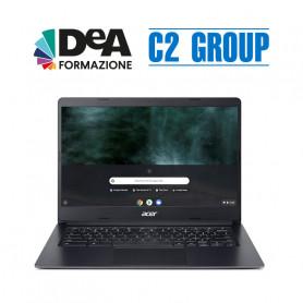 """CHROMEBOOK ACER C933 N4120 4GB 64GB  14"""" + Corso DeA Scuola avanzato"""