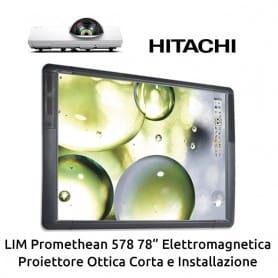 """KIT LIM Promethean 578 78"""" - Proiettore Corto e Installazione"""