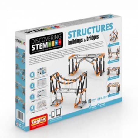 Engino STRUCTURES: costruzione di ponti semovibili ed edifici