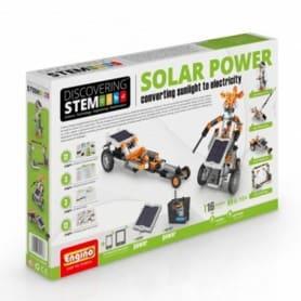 Engino Kit ENERGIA SOLARE: convertire l'energia solare in elettricità